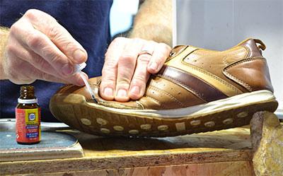 Activateur réparation semelle de chaussures