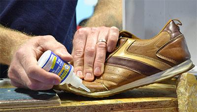 Colle professionnelle ultra forte pour réparation semelle de chaussure
